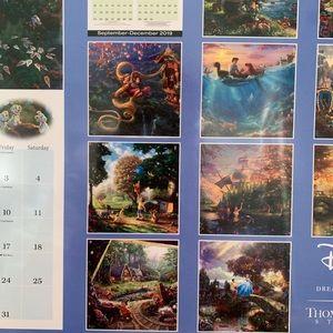 Thomas Kinkade Office - Disney Dreams Collection 2020 Calendar